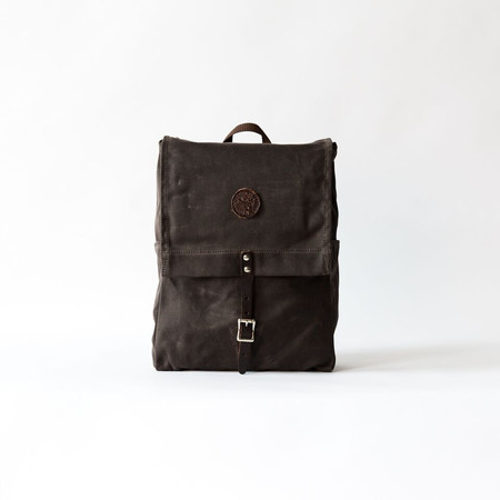 Duluth Pack Brown Wax Laptop Pack