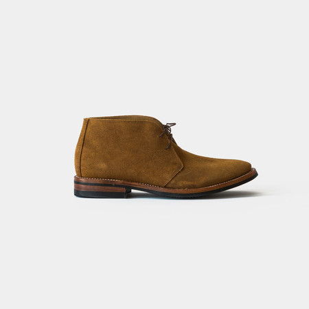Oak Street Bootmakers Rough Out Chukka Boot