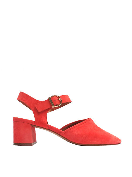 Intentionally Blank - Crystal Shoe / Suede Blood Orange