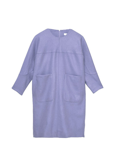 IGWT Marianne Dress / Lavender Wool