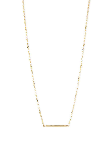 IGWT Thread Chain Necklace / Gold