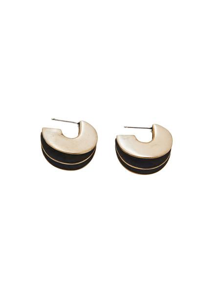 IGWT Wave Earrings - Brass