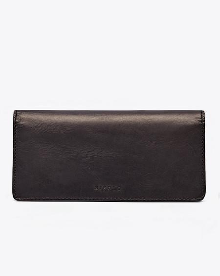 Nisolo Classic Wallet Noir