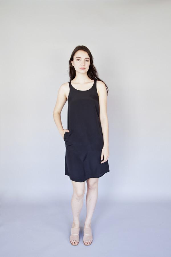 Sara Duke Tanner Dress Black