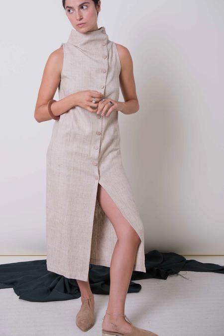 Ajaie Alaie Mycha Dress | Brown Sugar