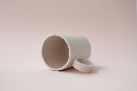YYY Blush pink mug
