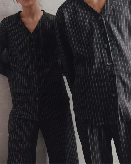 Unisex I AND ME Merino Stripe Baseball Tunic