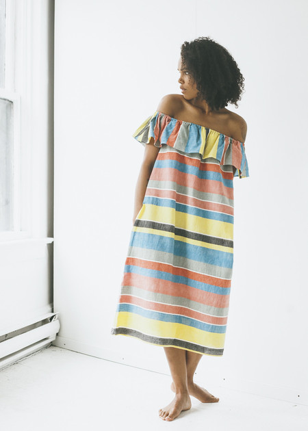 Proud Mary Cordoba Dress in Kingston Stripe