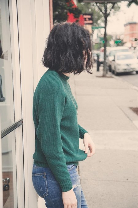 Diarte Jasper Sweater in Deep Green