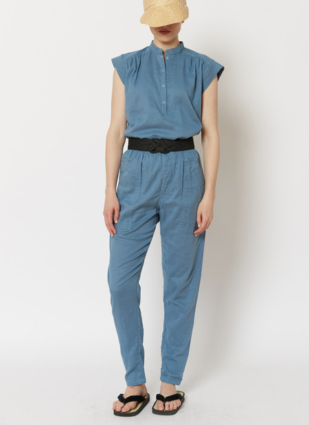 Built by Wendy Boxer Pants - French Blue