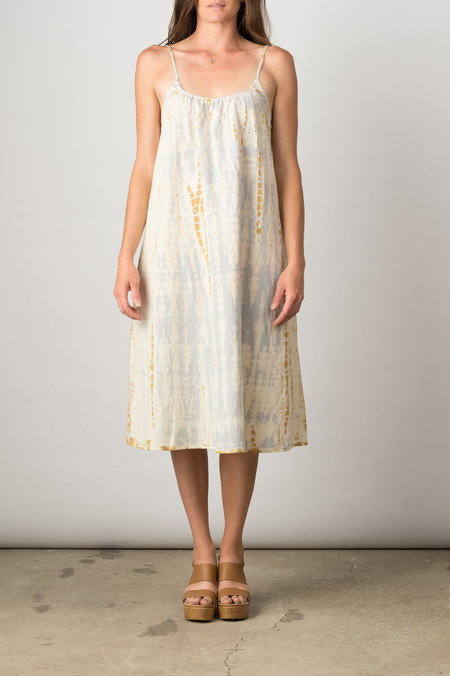 Lacausa Anais Dress In Fleur Wash