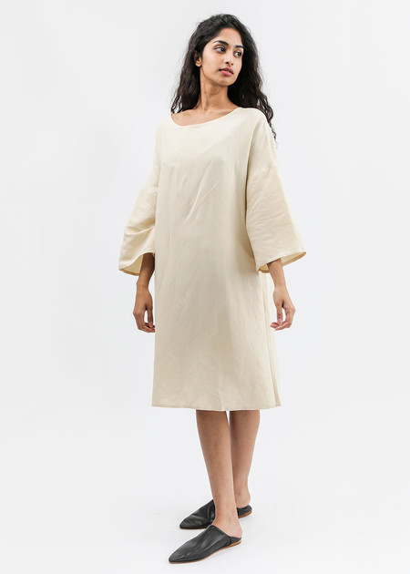 KAAREM Phoenix 3/4 Sleeve Boatneck Dress