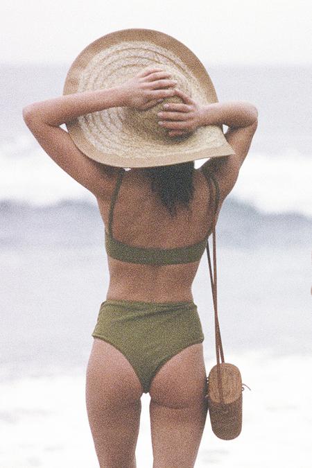 Maria Stanley Amanda Bikini Top - Chartreuse