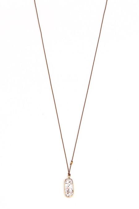 Margaret Solow Strawberry Quartz Necklace
