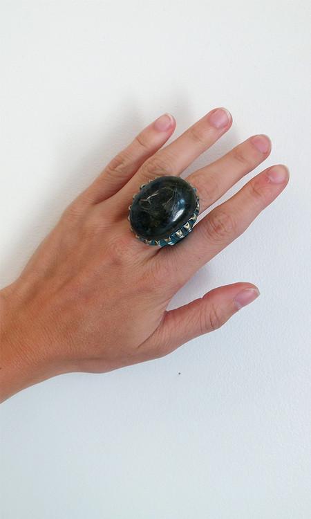 Adina Mills Labradorite Ring
