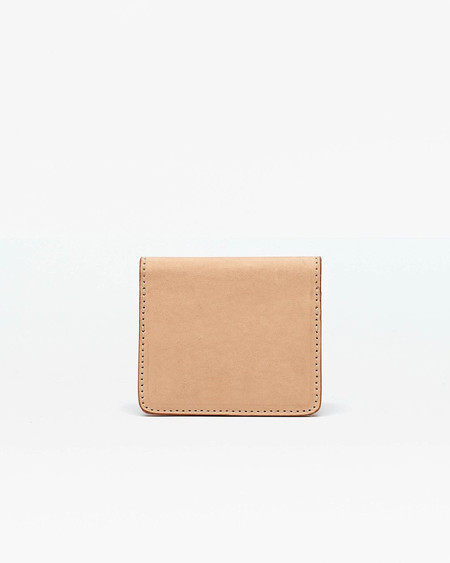 Nisolo Mini Wallet - Natural Vachetta