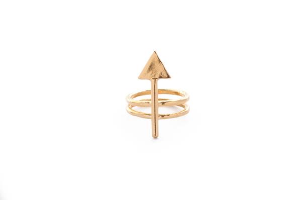 Psyche Ego Arrow Ring