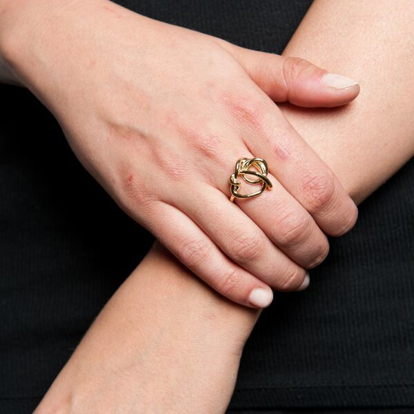 Psyche Imperfect Knot Ring