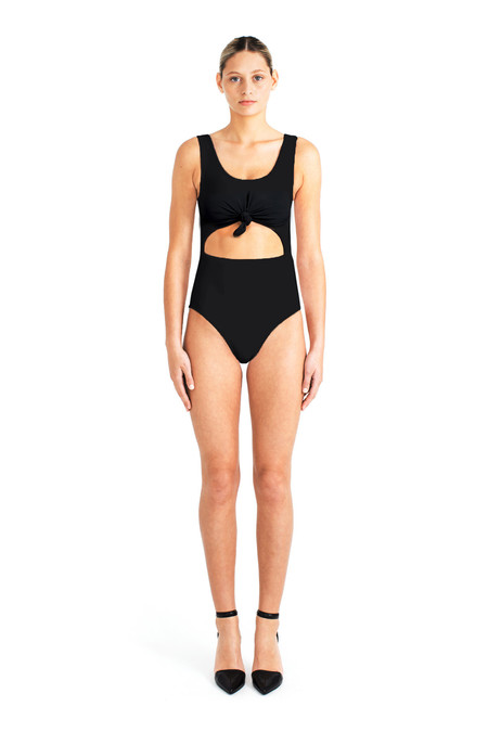 Beth Richards Knot One Piece - Black
