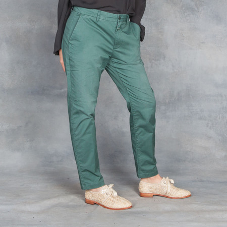 Closed Jack Lorber Green Ladies Stretch Pants