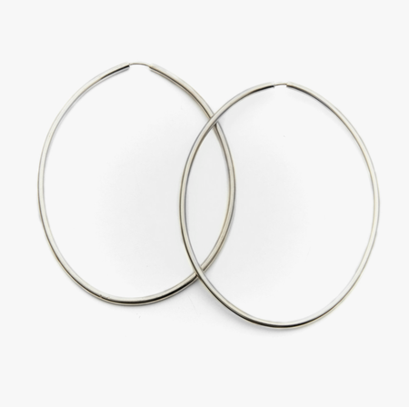 Fay Andrada Ovaali Hoops in Sterling