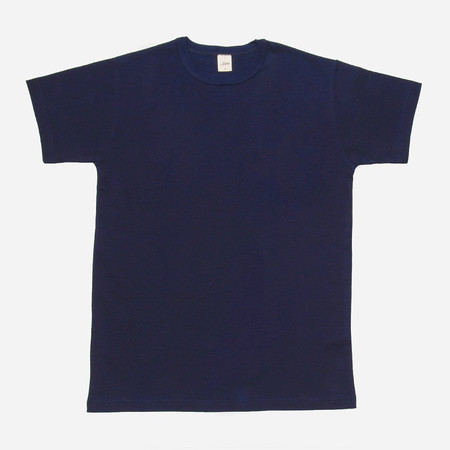 3Sixteen Heavyweight Plain T-Shirt - Indigo