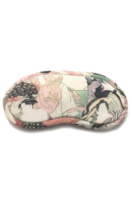 Strathcona Silk Japanese Lover Sleep Mask