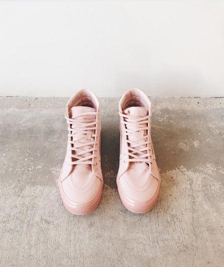 VANS Metallic Glitter Pink SK8-Hi Slim