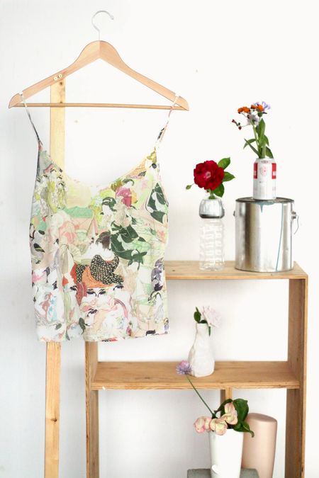 Strathcona Lovers Silk Camisole