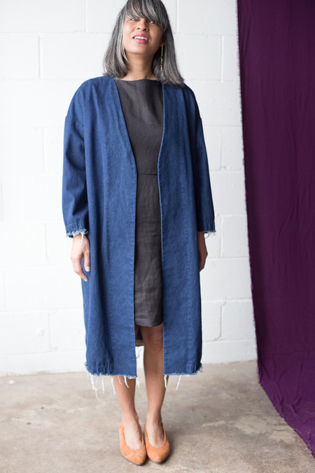 Odeyalo Santos Denim Coat