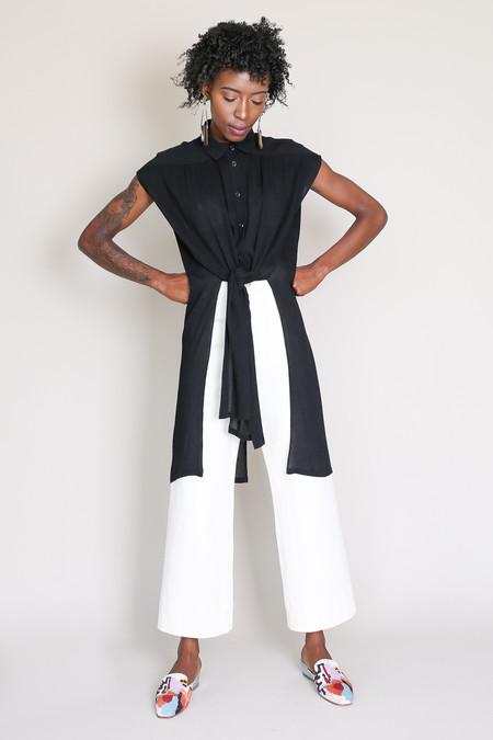 Rachel Comey Canna top in black
