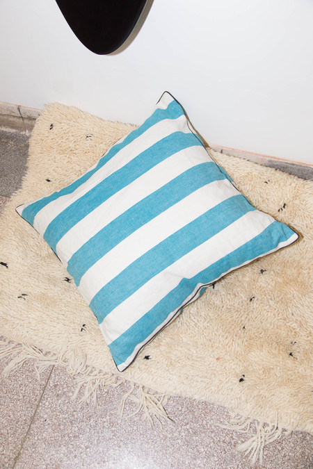 Heidi Merrick Atlantic Stripe Throw Pillow