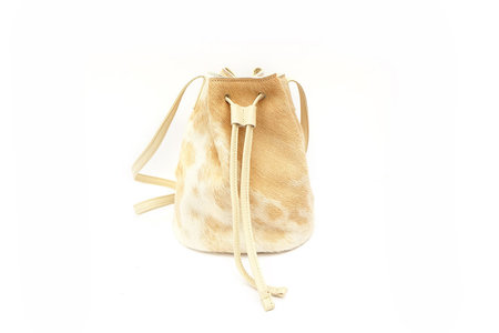 Primecut PALOMINO COWHIDE BUCKET BAG