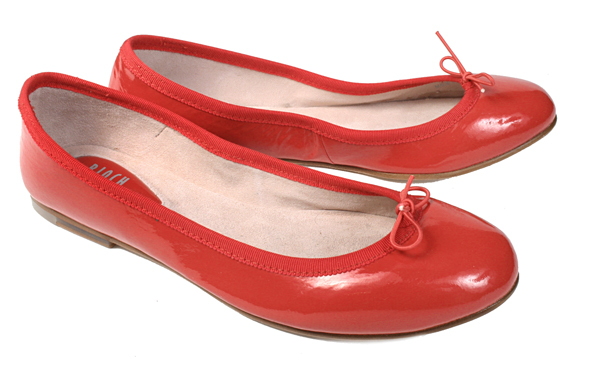 Bloch Patent Ballerina (Red)