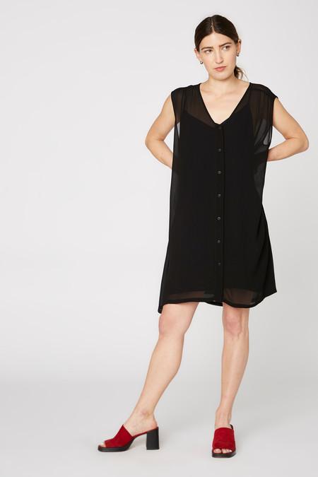 Lacausa Clothing Sleeveless Café Dress
