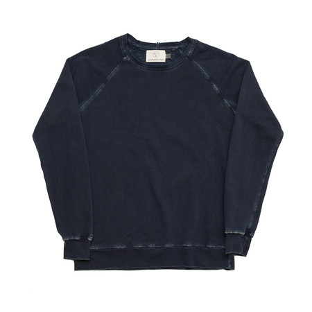 Olderbrother Hand Me Down - Classic Crew - Indigo