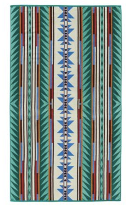 Pendleton Turquoise Ridge Spa Towel
