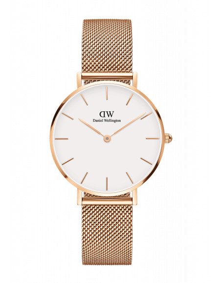 Daniel Wellington Classic Petite Melrose Watch Rose Gold 32mm
