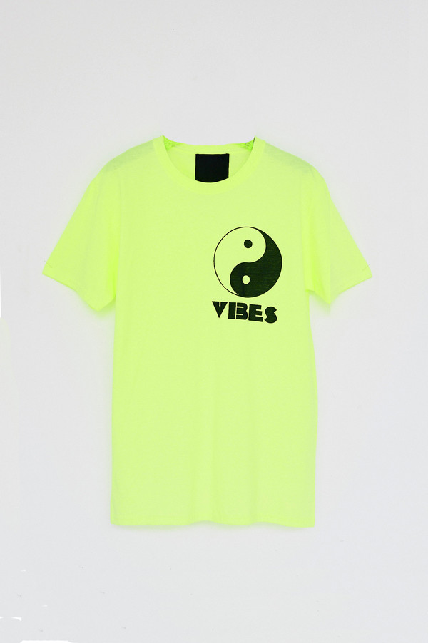 Unisex Assembly New York Cotton Vibes T-Shirt -Neon
