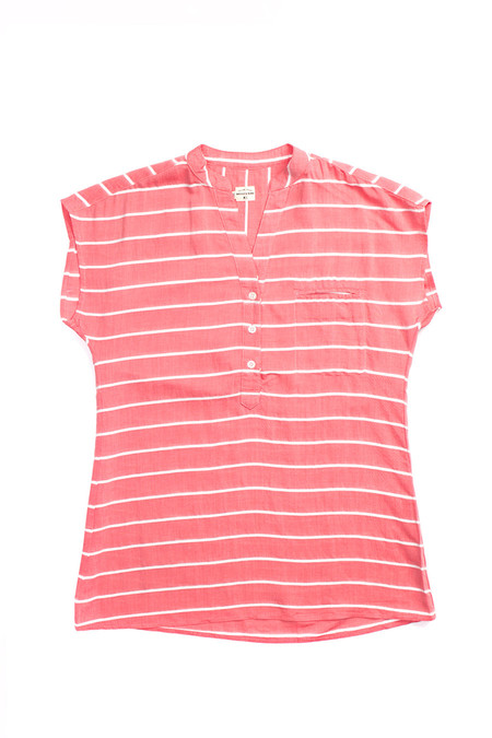 Bridge & Burn Newell Coral Stripe