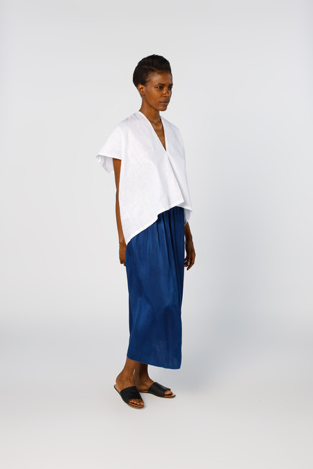 Miranda Bennett In-Stock: Ed. VIII Everyday Top - Linen in White