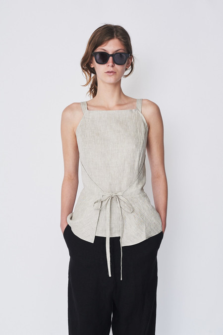 Shaina Mote Linen Kelso Top