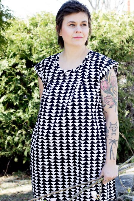 Noko Pacific Dress - Triangle Print