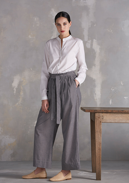 KOWTOW BAY WIDE LEG PANT / CHAMBRAY