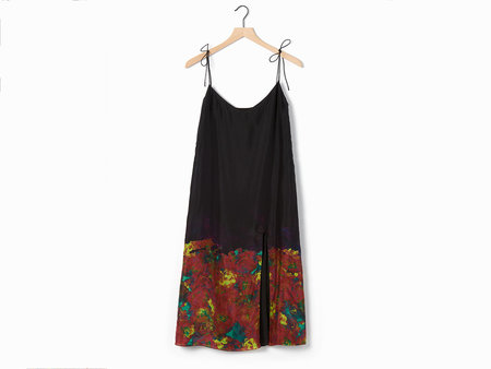 Acne Studios Sea Tie Shoulder Dress