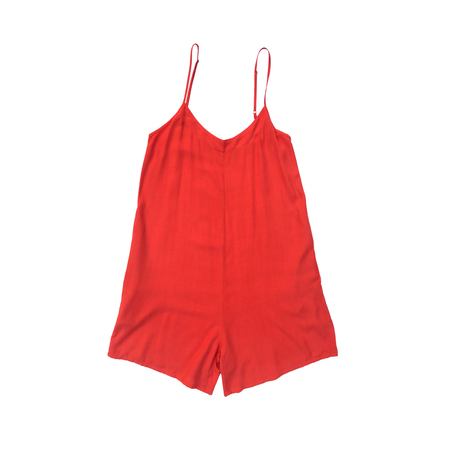 Ali Golden RAYON ROMPER - POPPY