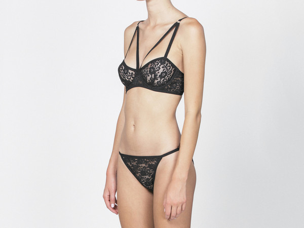 Lonely Blair Underwire Black