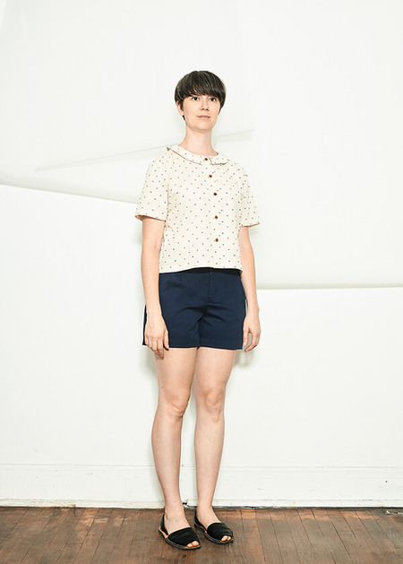 Atelier B Dot Blouse