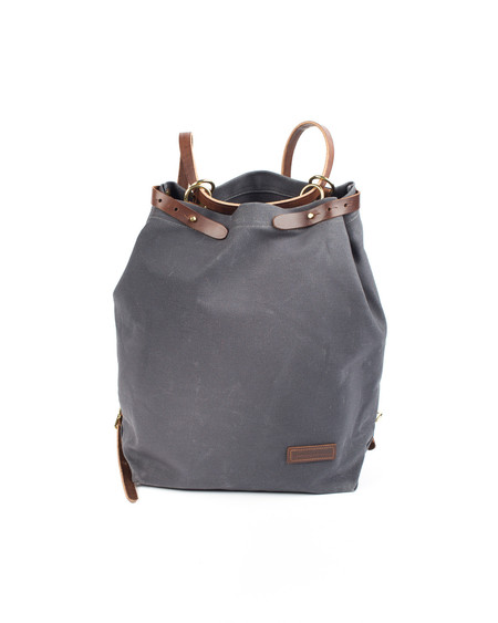 Wood&Faulk North Coast Grey Shuttle Pack