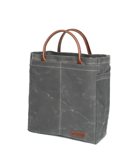 Wood&Faulk North Coast Grey Tool Tote